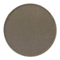 Smoke - Matte ash medium brown, Cool Tone. This eye color is the pressed version of their Cinder loose brow shade for Medium Ashe Brown hair & can be used interchangeably for both purposes.