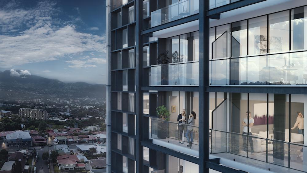 Cosmopolitan Tower - El arte de vivir con elegancia y sin límites a llegado a Rohrmoser con una torre de apartamentos de 1 y 2 habitaciones con un diseño único.