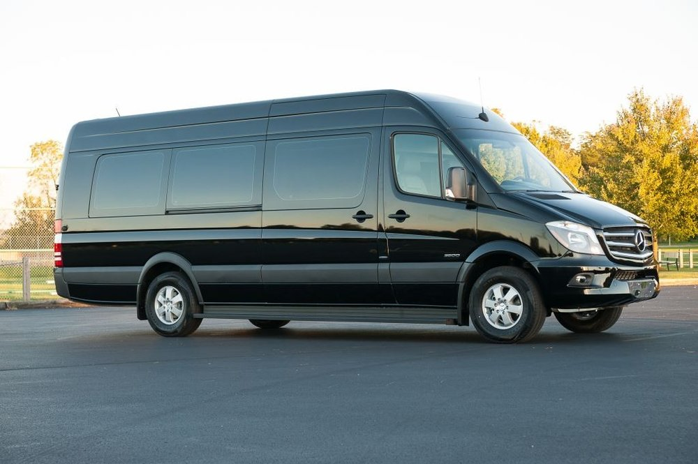Mercedes Sprinter Limousine Bus Style