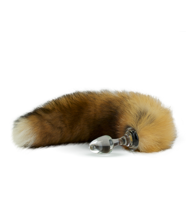 68002ac6adf Crystal Delights Canadian Red Fox Tail (Minx Fur)