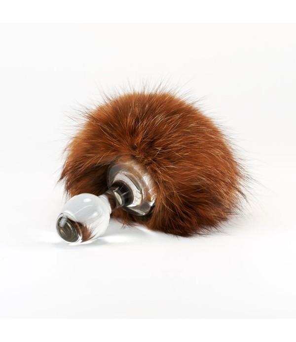 552fbfb9efc Crystal Delights Brown Bunny Tail (Minx Fur)