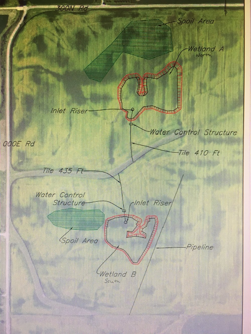 Wetland Restoration Plans.