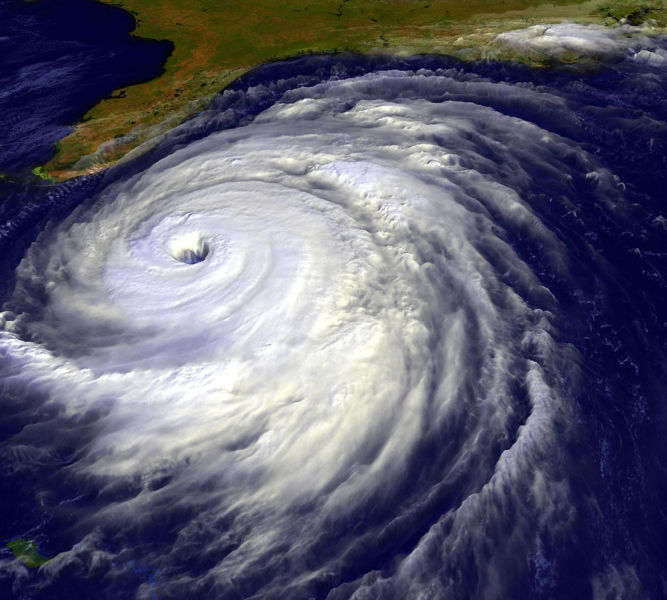 Hurricane Floyd - Image Courtsey of NOAA