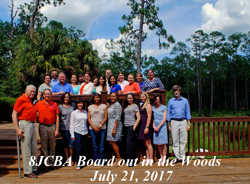 The EJCBA Board at their annual retreat on July 21, 2017. Photo by Frank E. Maloney, Jr., Historian