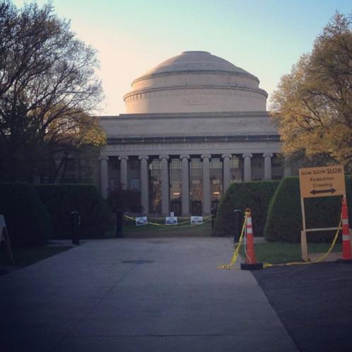 MIT: Under construction since 1861.
