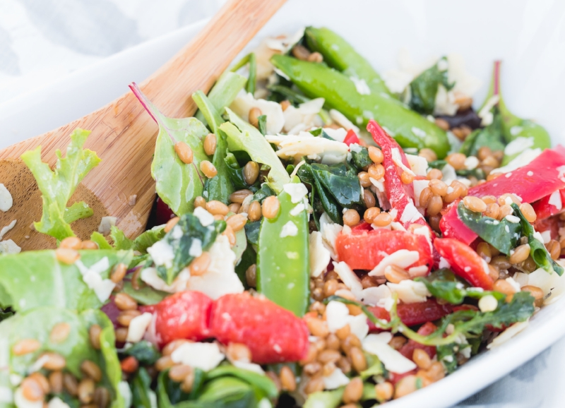 Table to Soul Summer Wheat Berry Salad