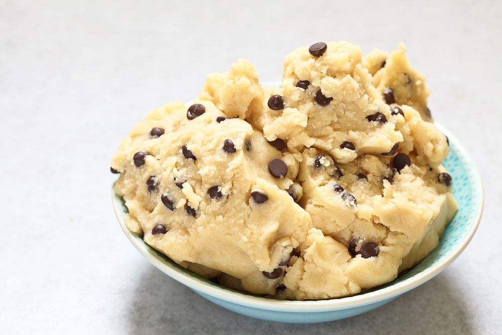 Vegan Edible Raw Cookie Dough