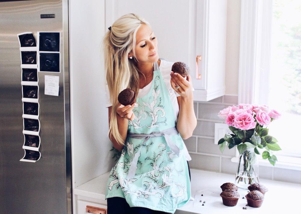 Tiffany Kent Zucchini Muffins