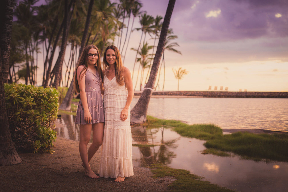 big island hawaii anaehoomalu sunset beach family © kelilina photography 20170727190802.jpg
