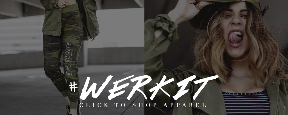 Fashion Inspired Senior Portraiture doesn't end with your luxury studio photography experience - Shop trendy custom designed apparel and products by Nicollette Herself!