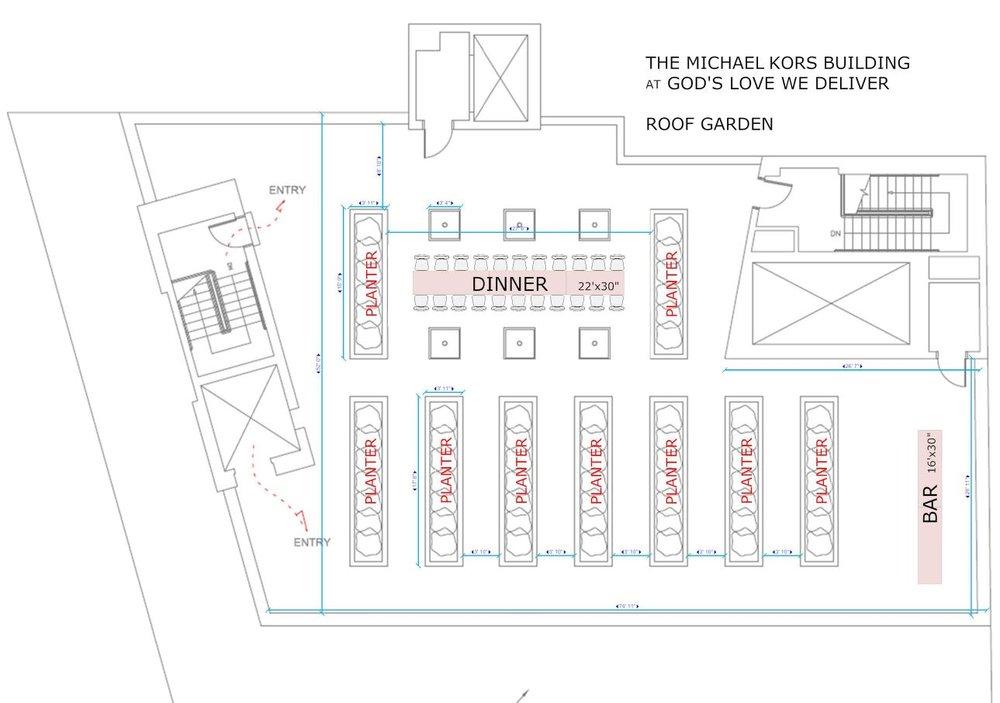 7th Floor Rooftop Herb Garden
