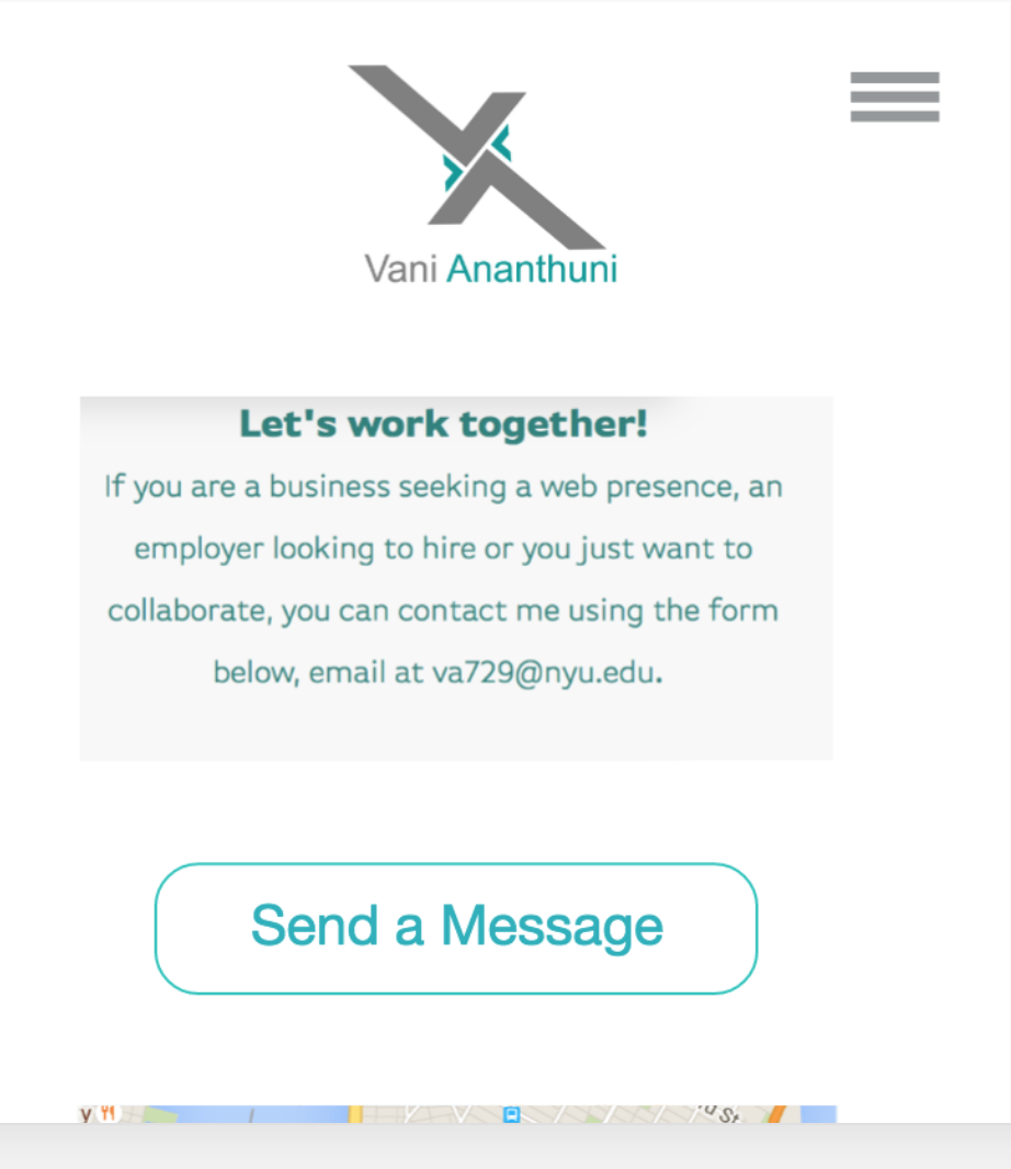 SVG Contact Page Prototype