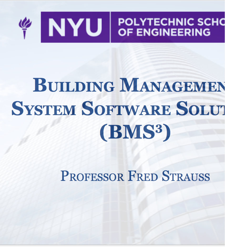 Building Management Software