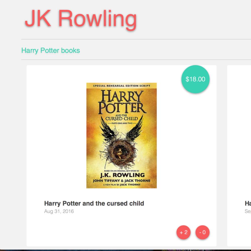 Book Store (Angular.js)