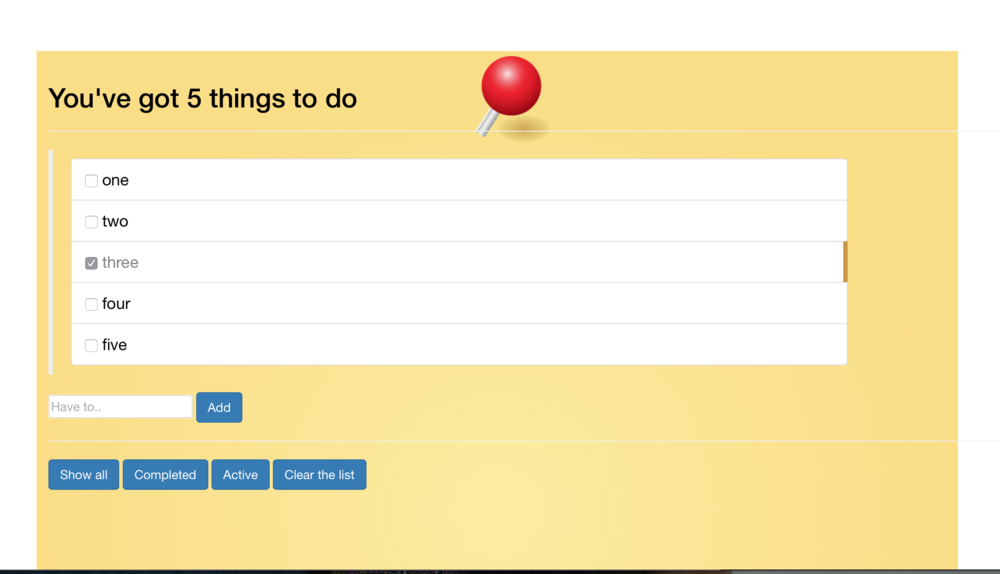 Angular.js To-do App (WIP)