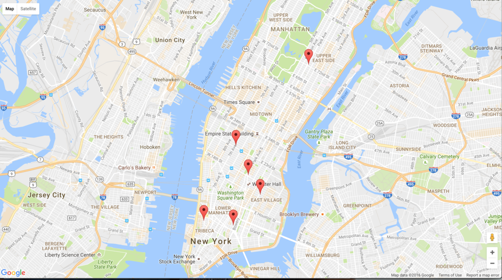 Attractions near you - Google Maps API (WIP)