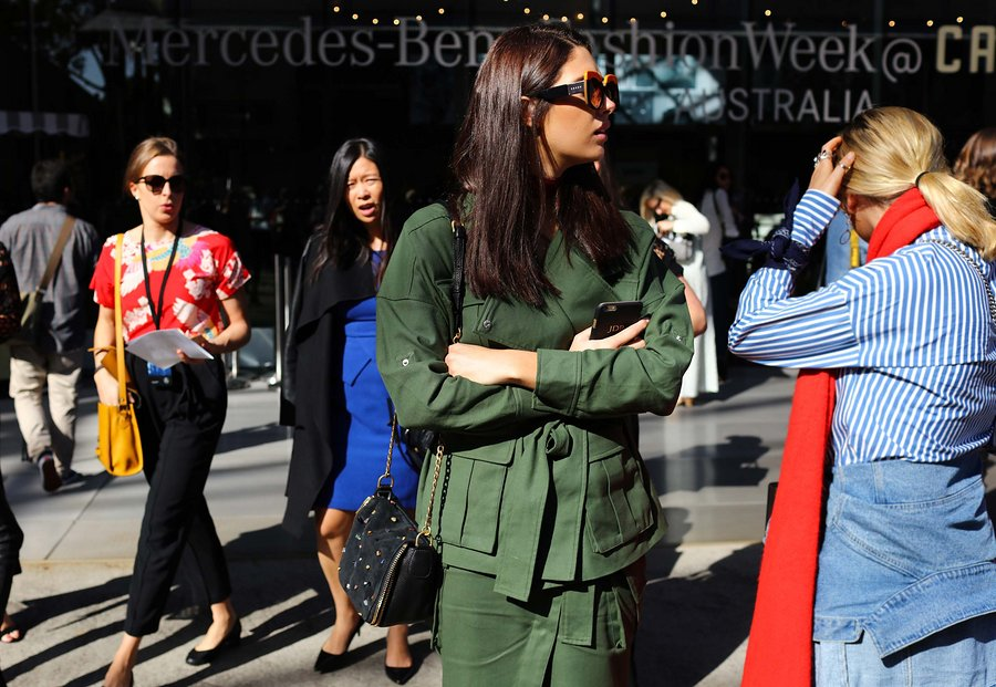 JAIME RIDGE PHIL OH'S BEST STEET STYLE PICS FROM MBFWA