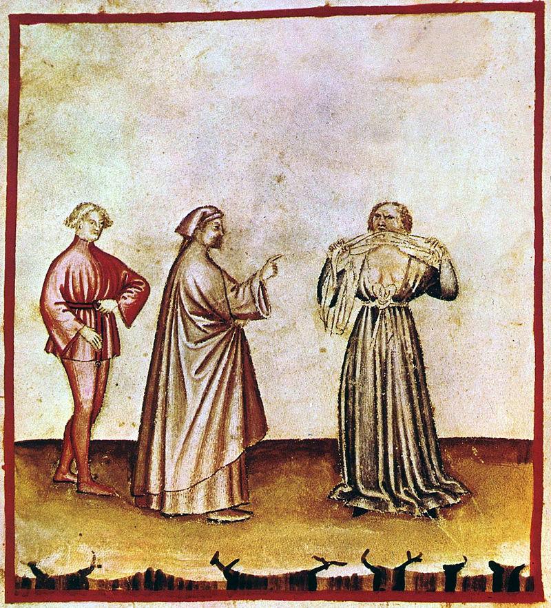 Rage,Tacuinum Sanitatiscasanatensis (14th century)