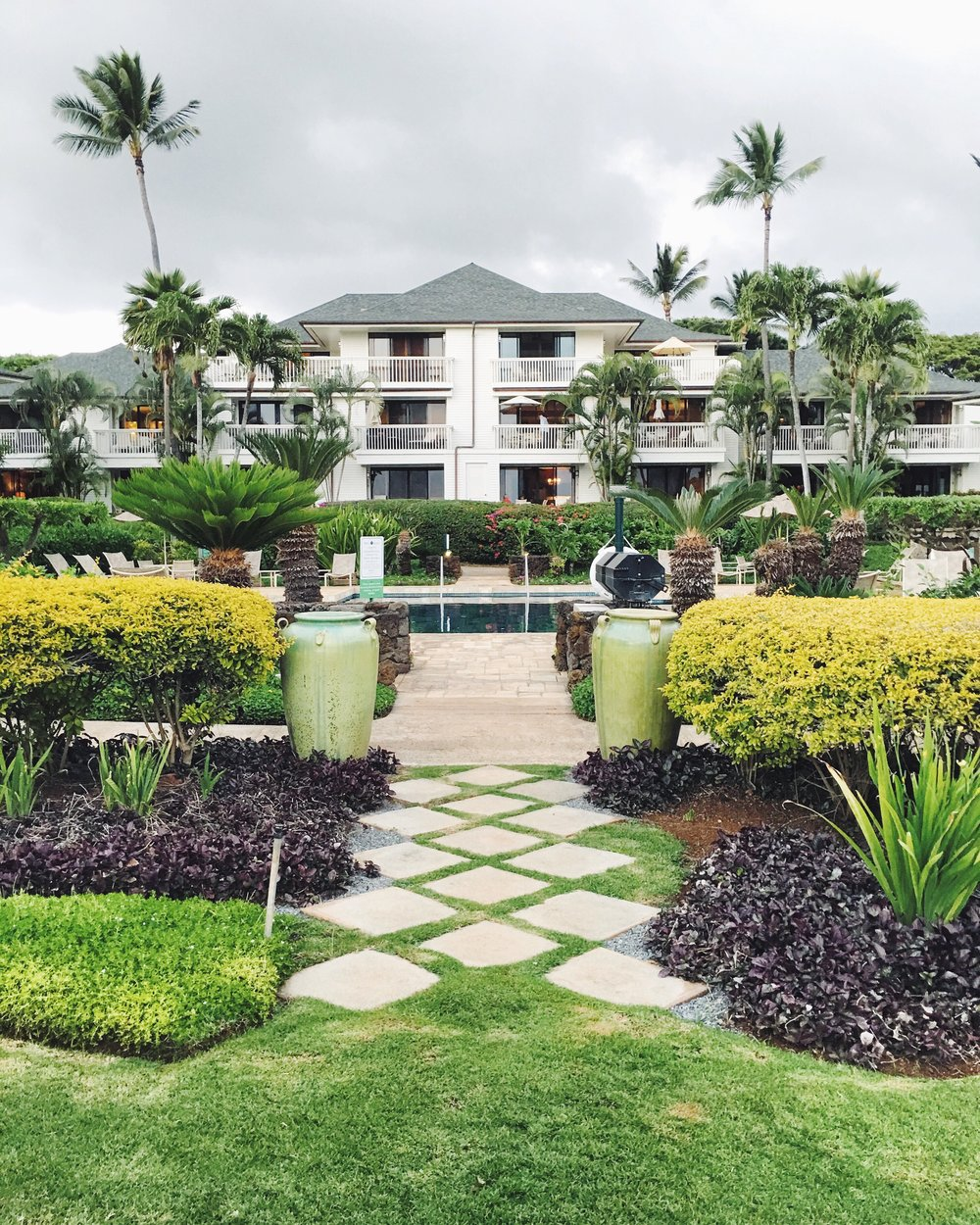 where we stayed in Poipu - This was an amazing vacation luxury rental that we found via vrbo.