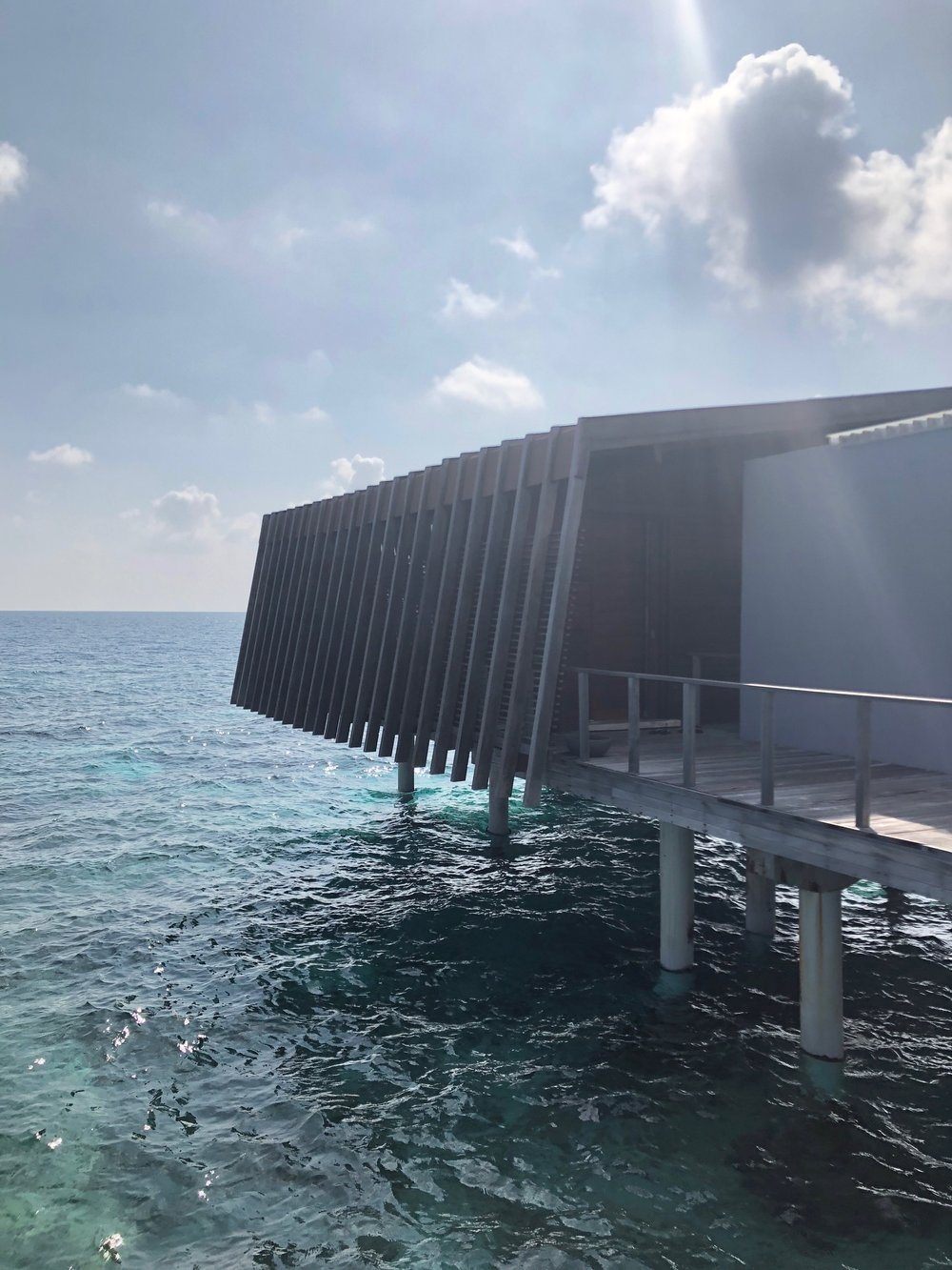 overwater villa -