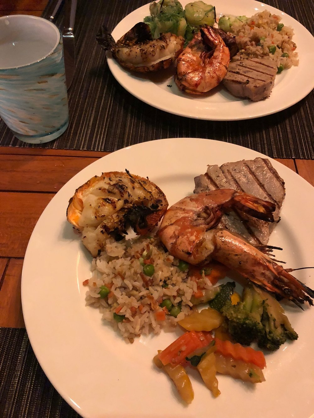seafood buffet -