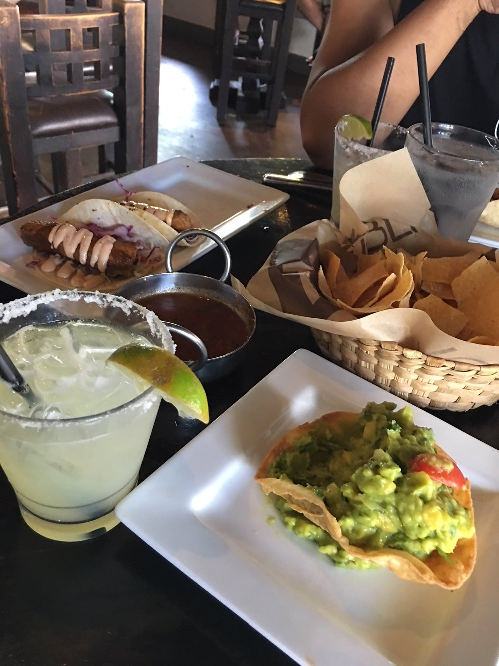 Happy Hour at Tortilla Republic - Yummy Mexican restaurant with cute decor and good drink specials too. They had margaritas on special the day we went!