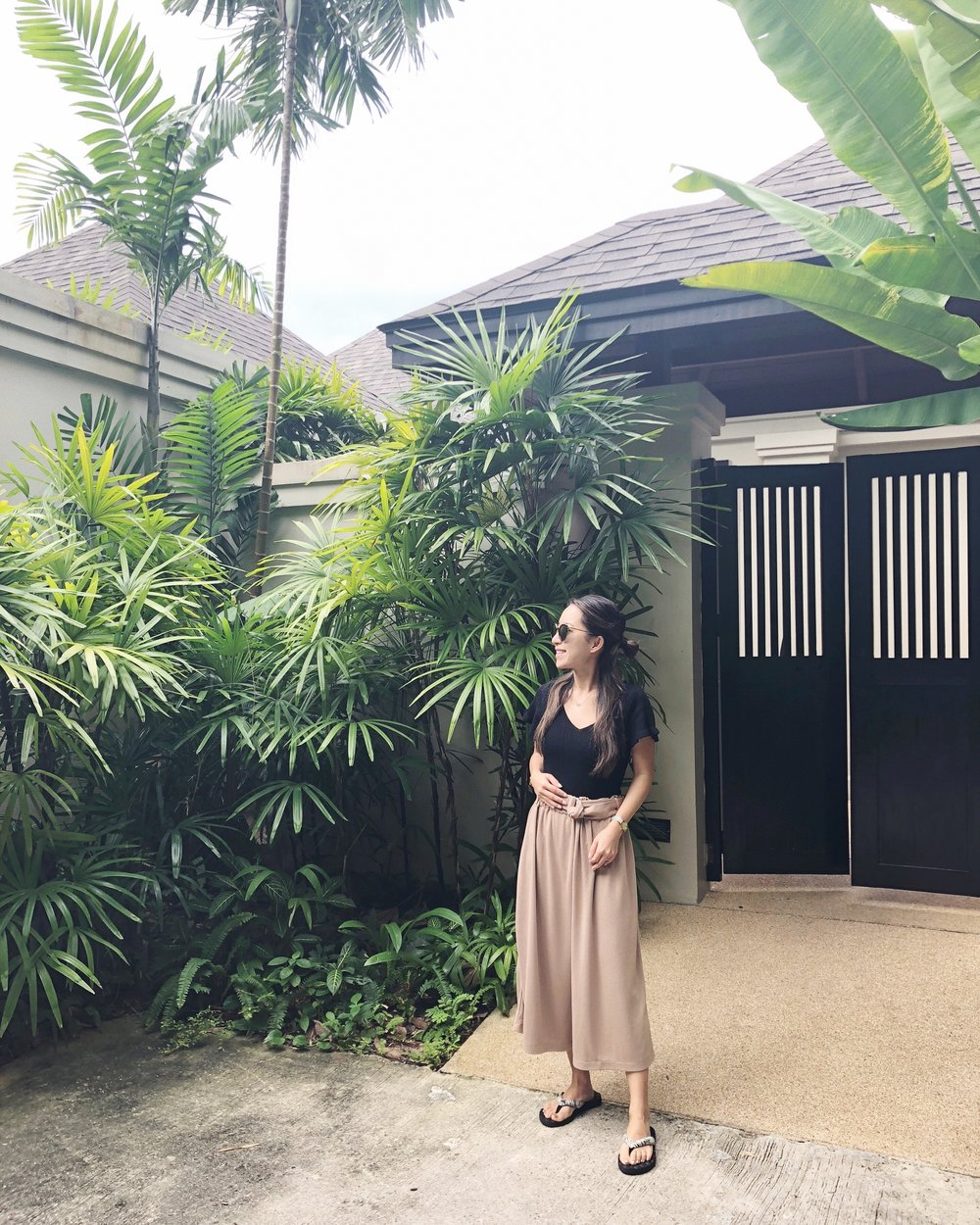 Location: Phuket | Wearing: Uniqlo trousers, Reef sandals, blouse from local brand