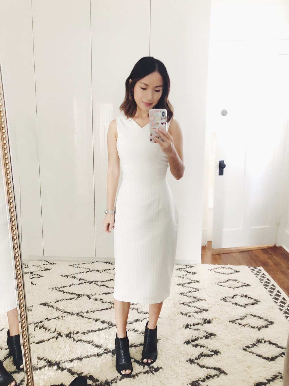 simple + sophisticated - Dress: Love BonitoShoes: Steve Madden