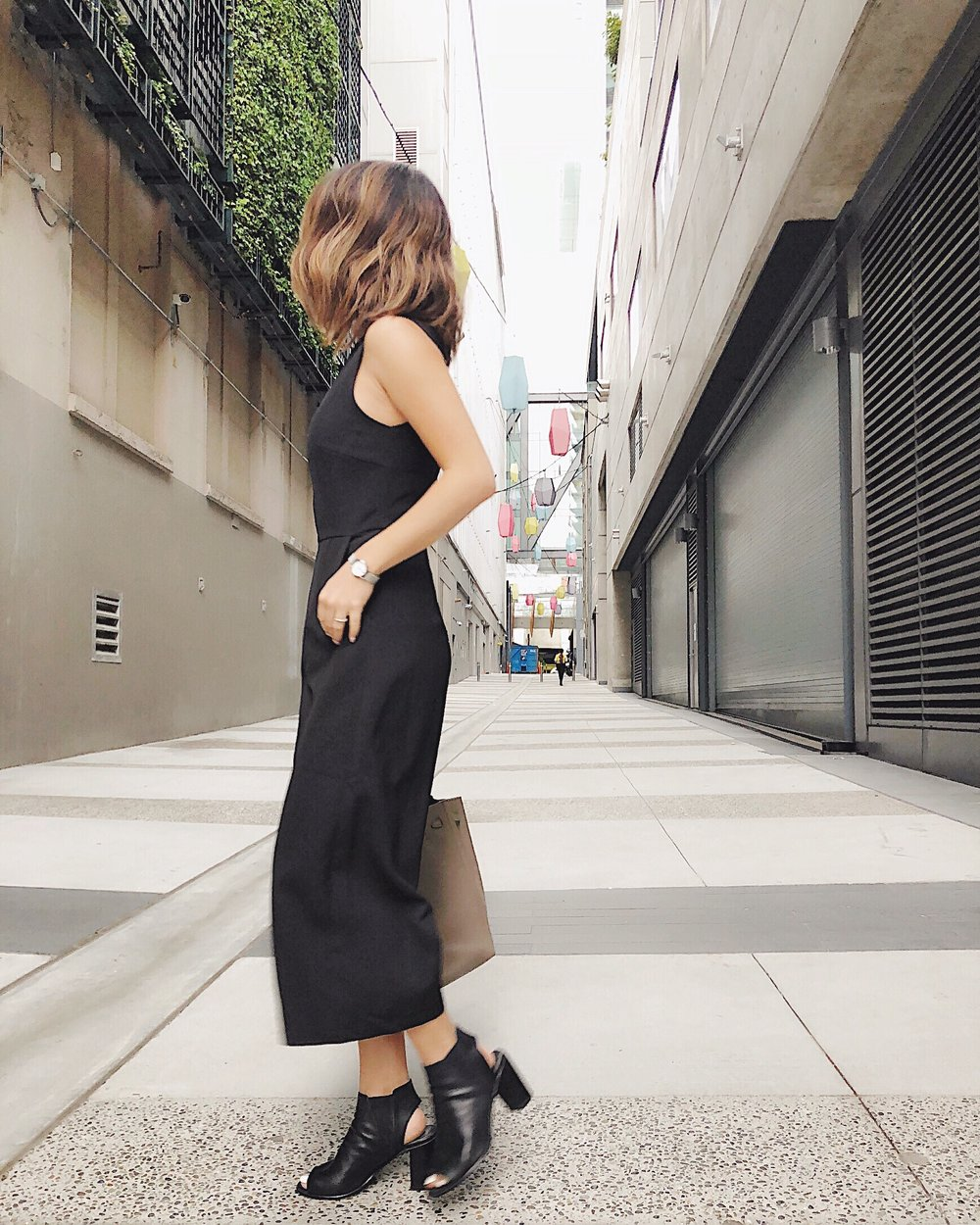 city chic - Jumpsuit: Love BonitoShoes: Steve Madden