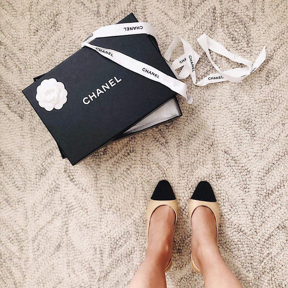 Chanel Slingback Shoes -