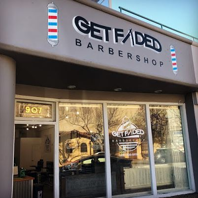 Get Faded Barbershop  Jose Moya  907 Cedar St.  Santa Cruz  (831) 600-8958