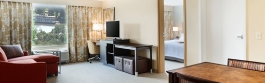 Two night stay at Hampton Inn and Suites