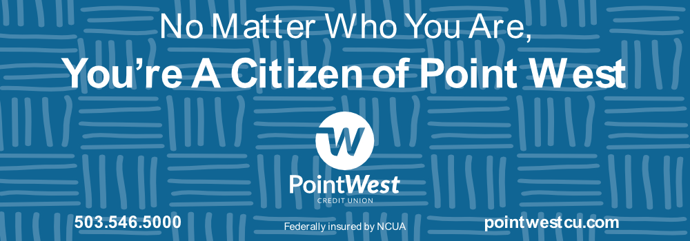 We're so grateful to Point West Credit Union for sponsoring this year's Gift Guide.  Check out their $25 offer by clicking here.