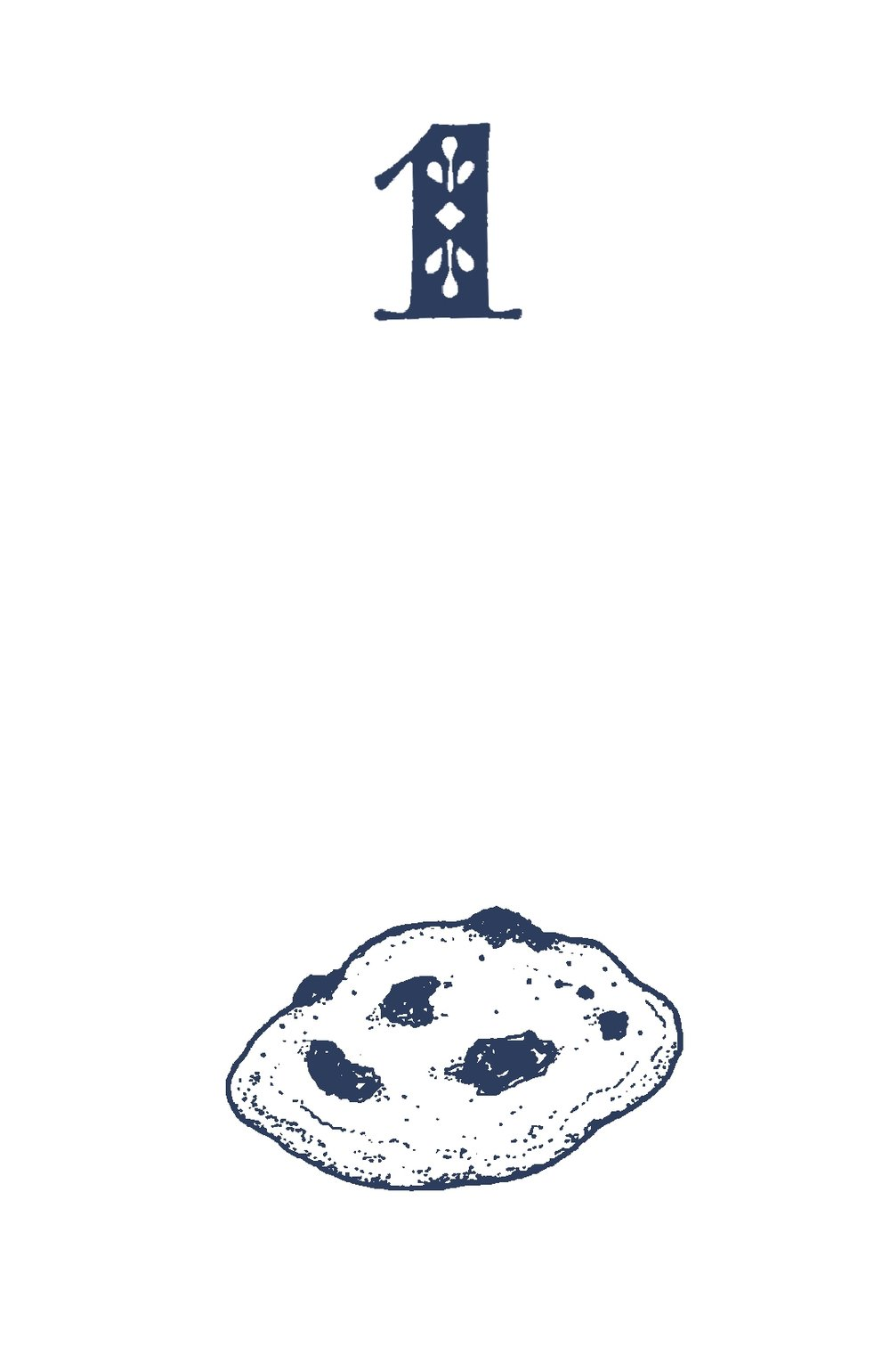 free nutty chocolate chip cookie
