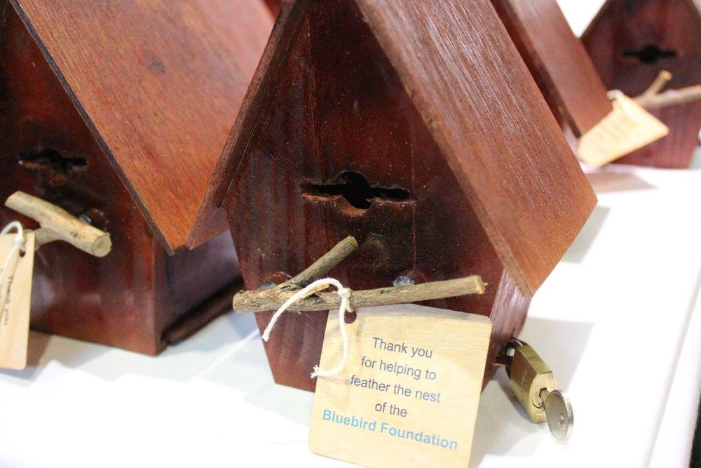 Birdhouse money boxes