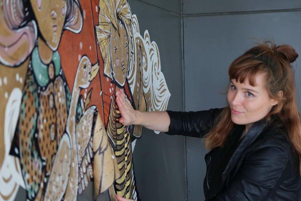 Renowned local artist, Laura Alice