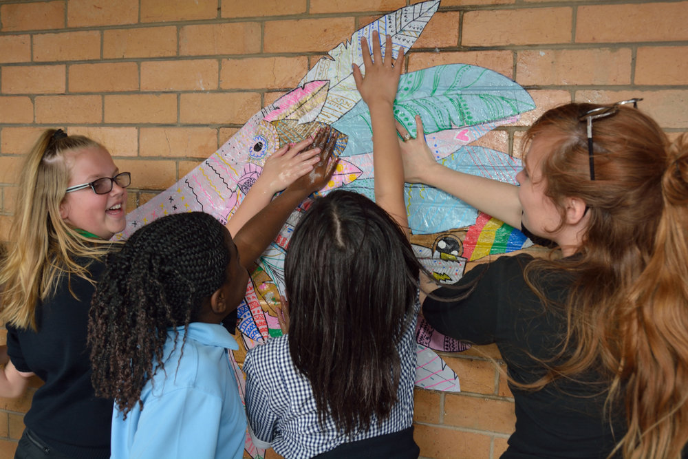 Imagination taking flight - Arts Enrichment 2017