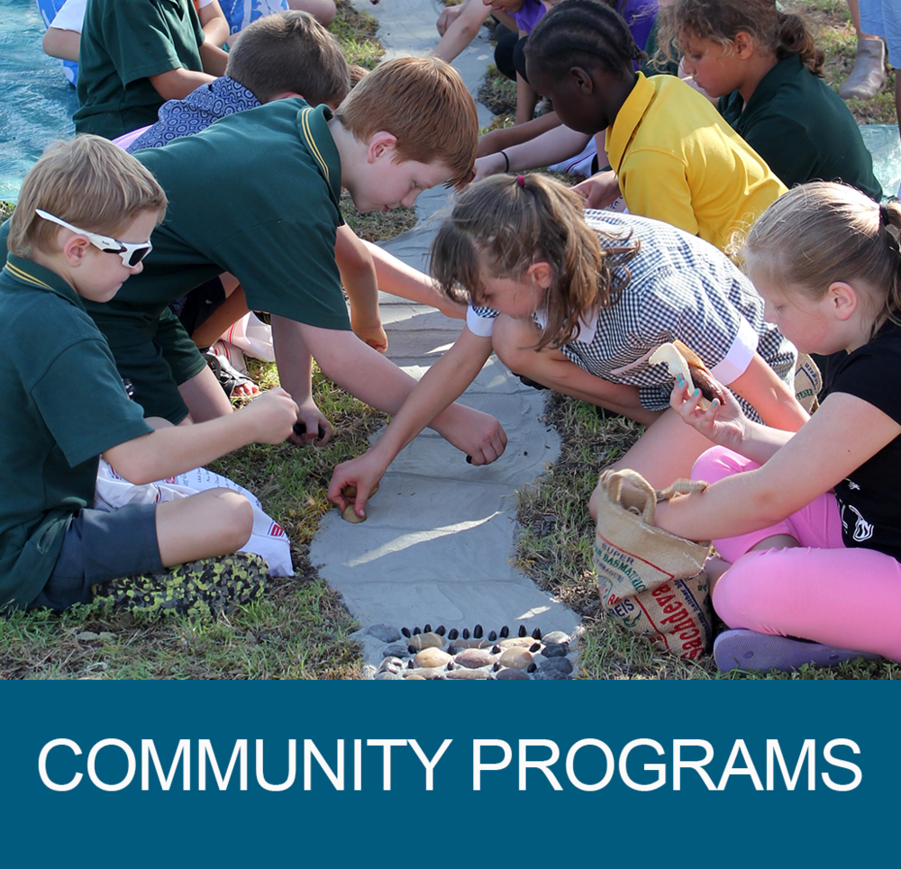 - Funded programs that effect cultural change within our community, delivered at no cost to participants.