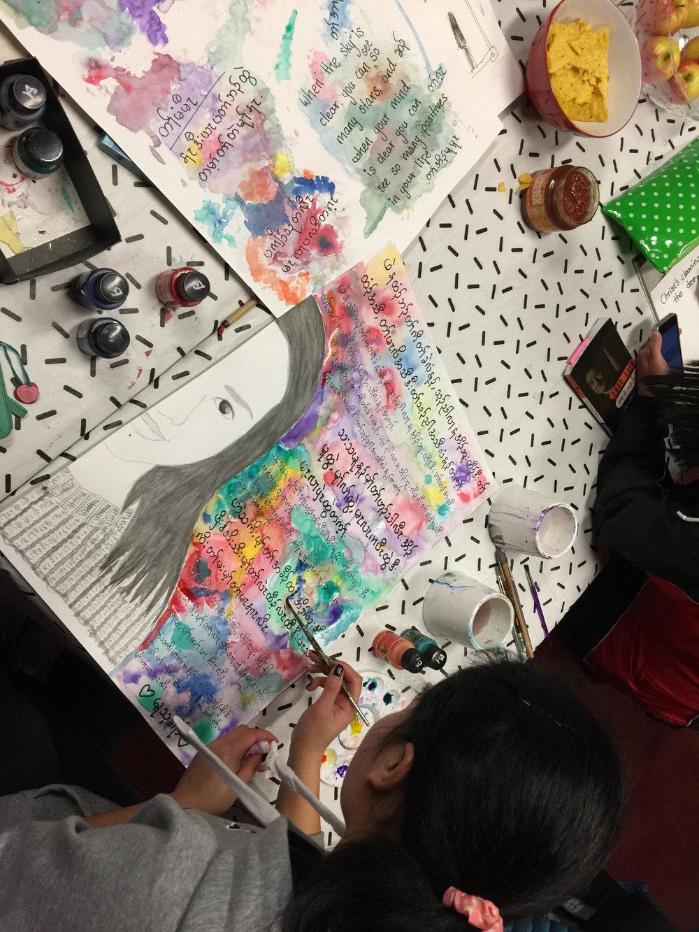 Sharing lives through art - Drawn Together | Geelong 2018