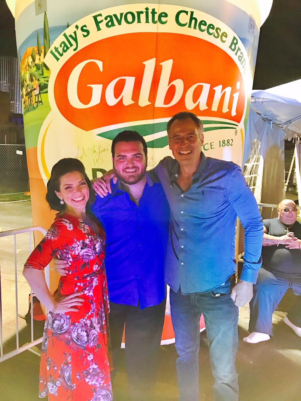 Rochester Galbani Italian Festival with Sal Valentinetti.