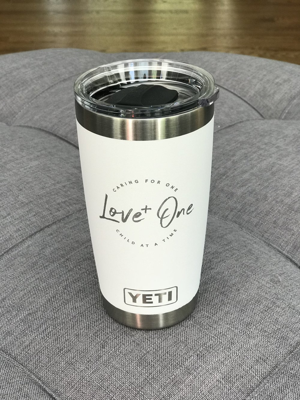 "- ""Love One"" Yeti 20 oz Rambler-Love One Store-(100% profits - Feed the Children of Uganda)"