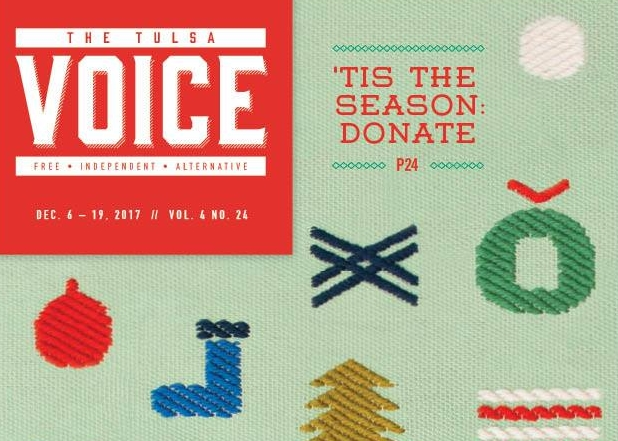THE TULSA VOICE / DECEMBER 2017
