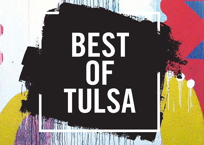 THE TULSA VOICE  / BEST OF TULSA 2018 / Winner:  Best Visual Artist