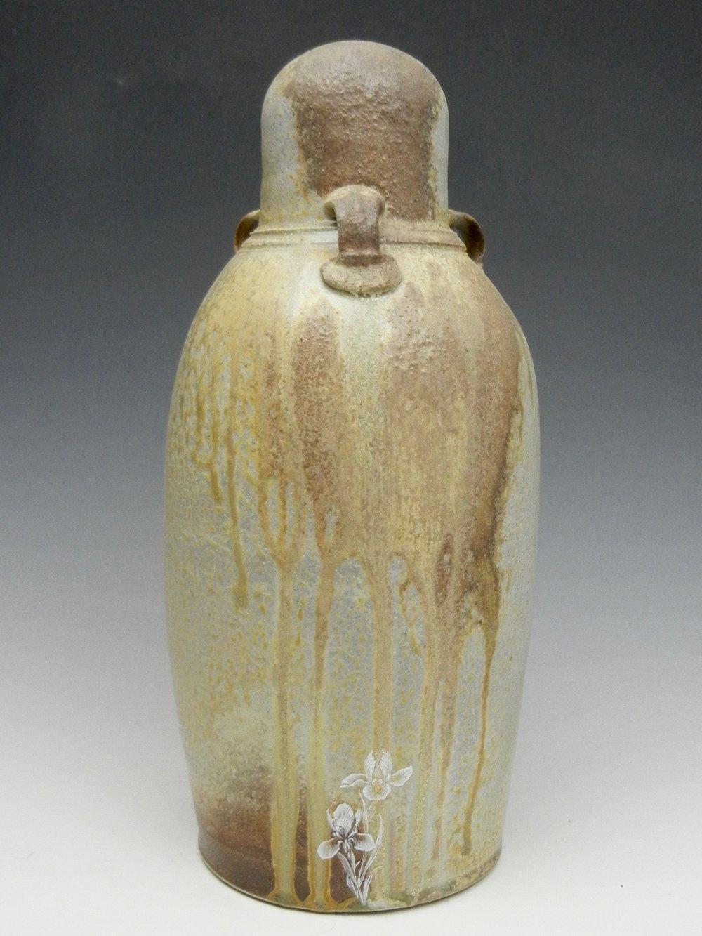 Lorenz Pottery, handmade, ceramics, pottery, folk pottery, wood fired, soda fired, grave marker