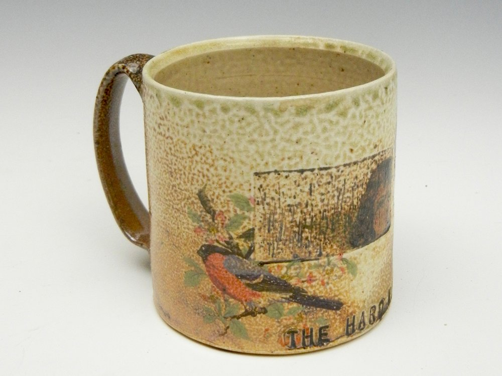 Lorenz Pottery, handmade, ceramics, pottery, folk pottery, wood fired, soda fired, coffee, mug