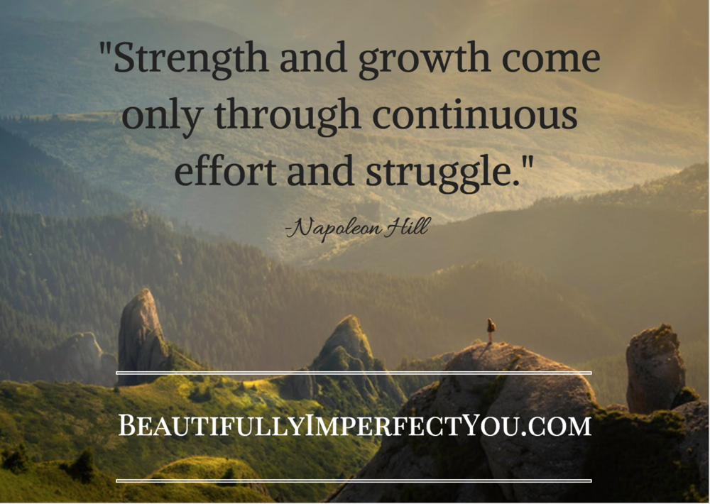 strength and growth quote