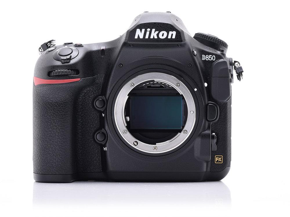 45.7 Megapixels available on the Nikon D850