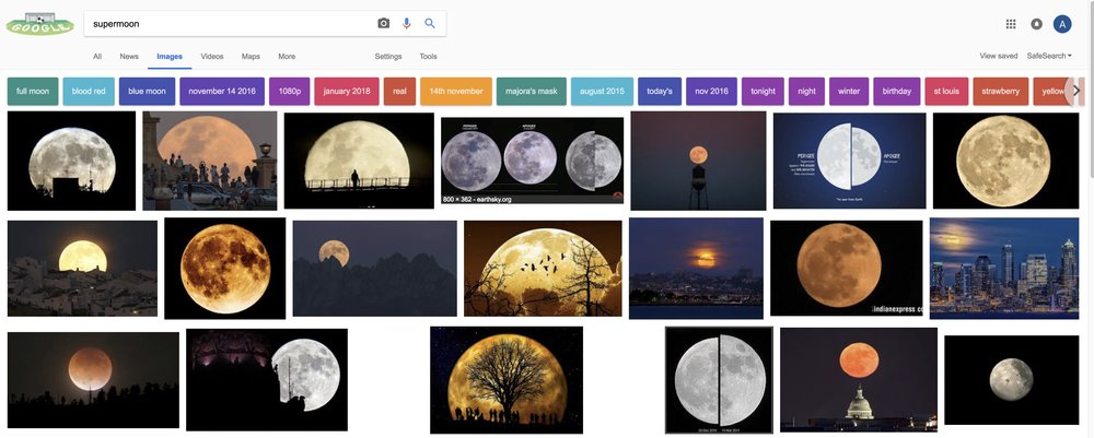 supermoon and lunar eclipse google search