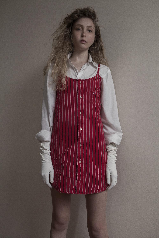 shirt c alvin klein  dress ralph lauren  gloves  vintage zoo emporium