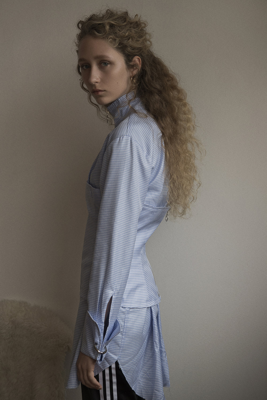 shirt  marques almeida  track pants  adidas